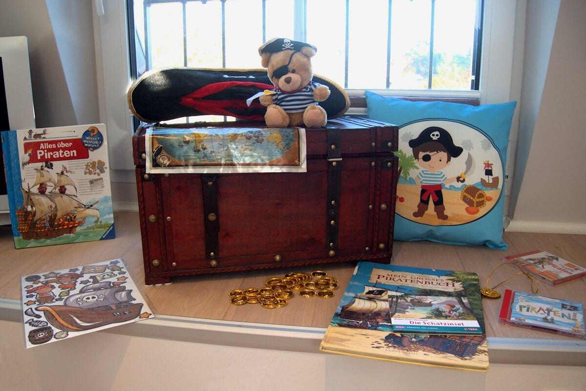Piratennest-Kinderzimmer im Ferienhaus, Familien-Urlaub in Zingst